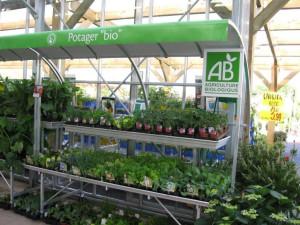 marché aux fleurs - tablar aluminium avec étage et toiture