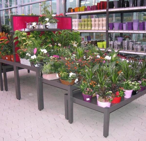 Tables bacs larbaletier - Presentoir plantes exterieur ...