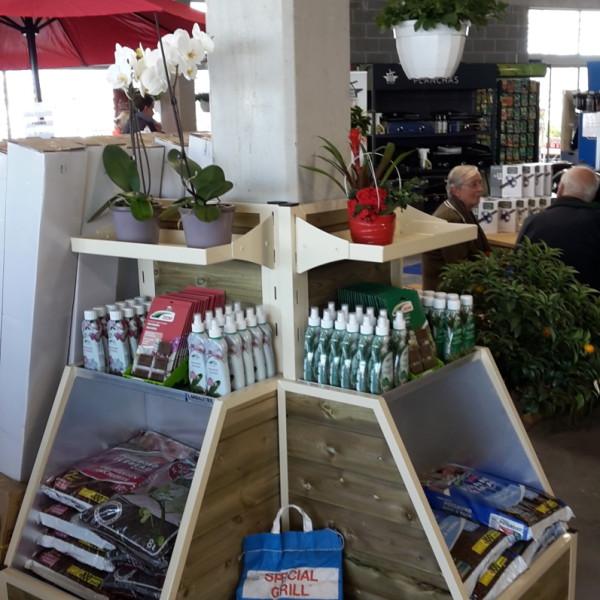 marché aux fleurs - caissons verticaux