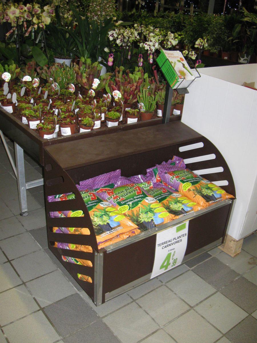 marché aux fleurs - caisson horizontal