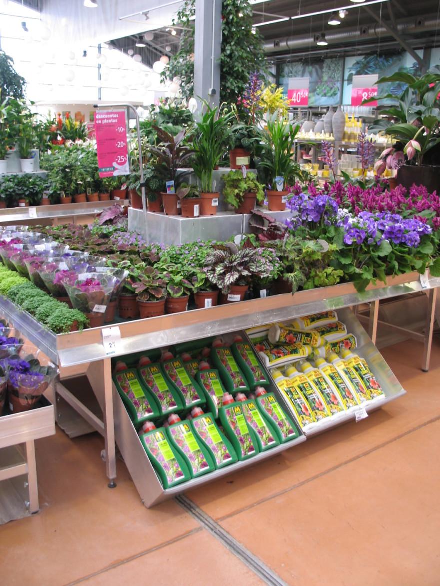 marché aux fleurs - caisson sous table