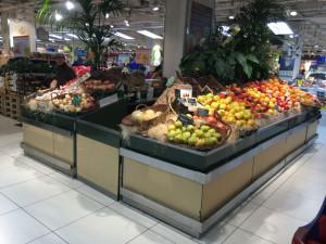 meuble présentoir bergerie - fruits&légumes