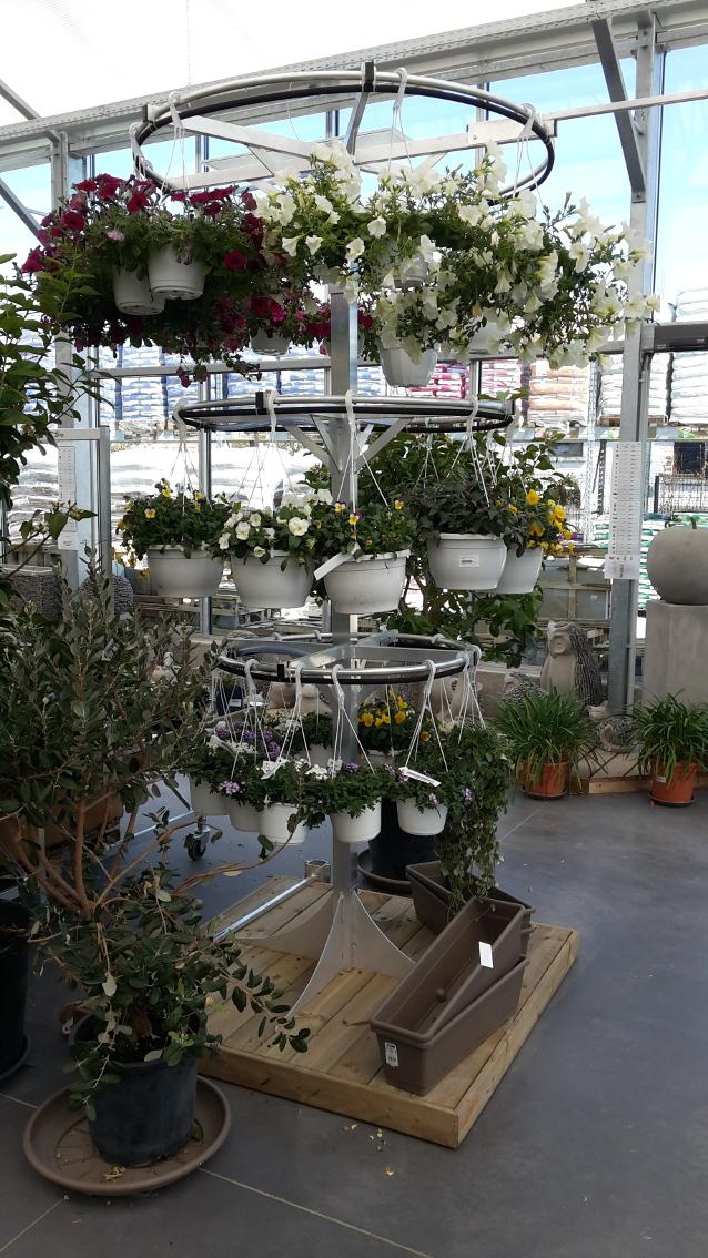 marché aux fleurs - portéo sur pied