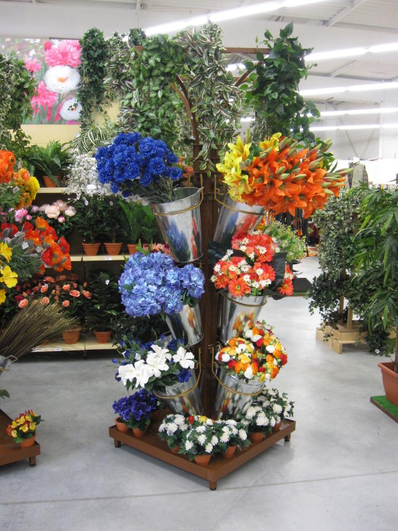 mat fleurs artificielles
