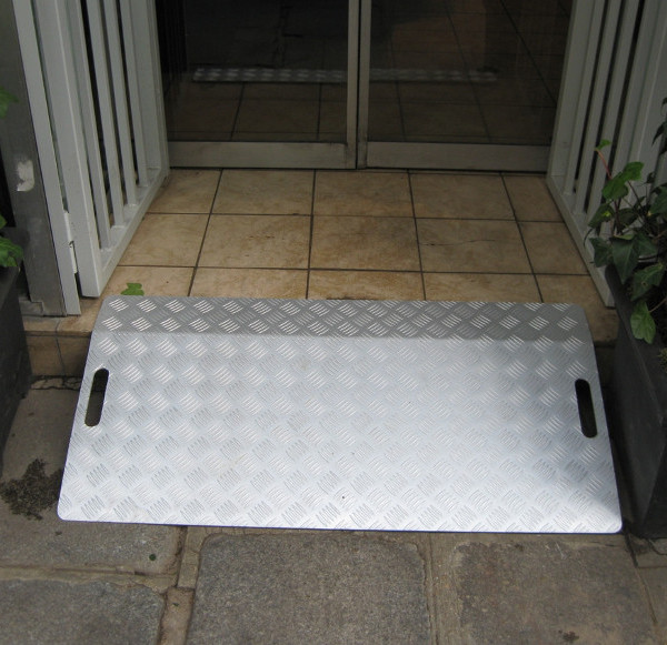 passage de marche aluminium, leger et amovible