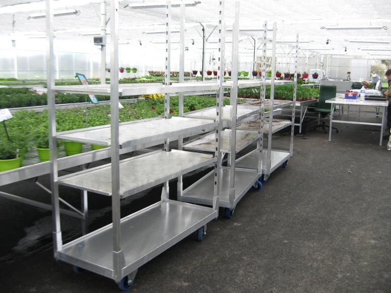 horticulture - chariot tout aluminium démontable
