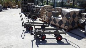 chariot de jardinerie libre service 4x4