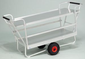 horticulture - chariot pépinière tout aluminium