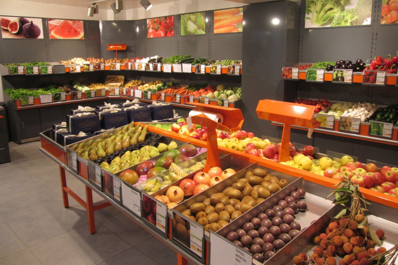 magasin fruits & légumes