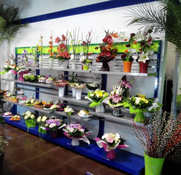 panneaux muraux fleuristes