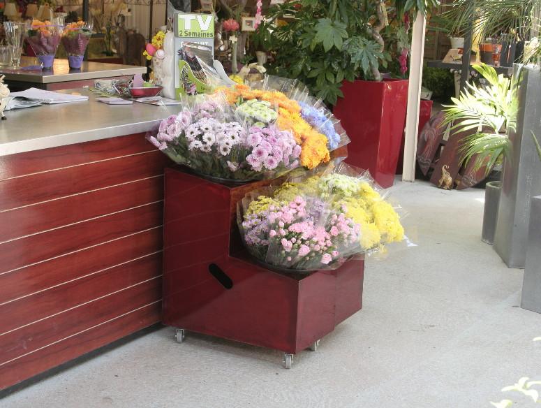 presentoir fleurs petit format tac tic