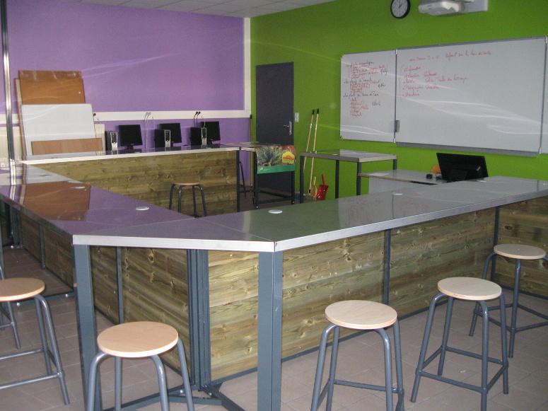 horticulture - tables de formation aluminium et bois