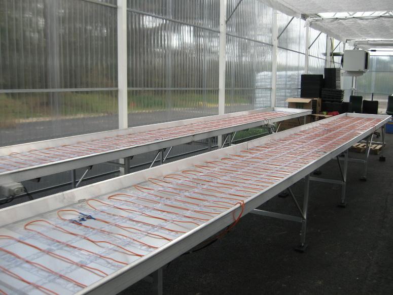 Tables de production fixes gamme jardinerie larbaletier - Table de repassage professionnelle occasion ...