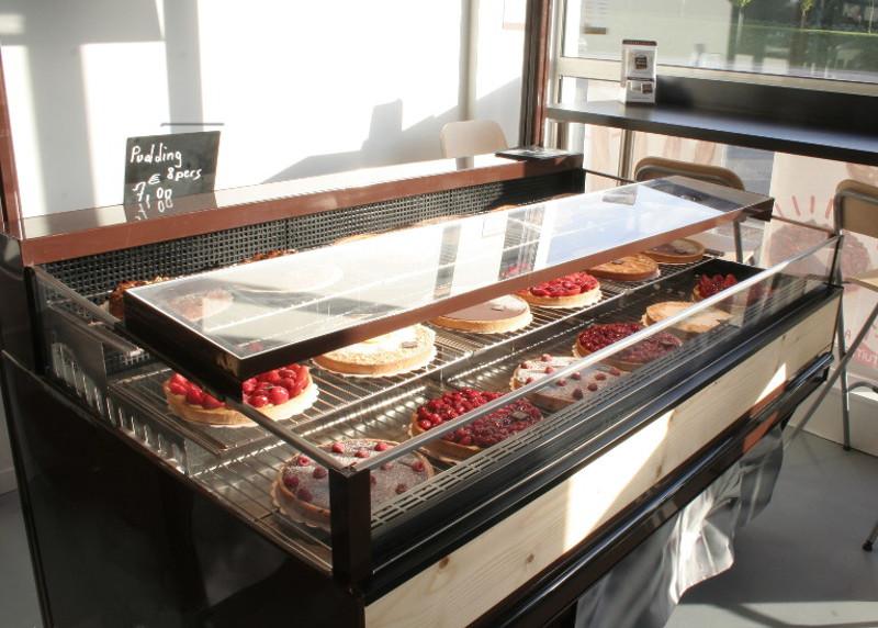 Boulangerie - meuble froid pâtisserie