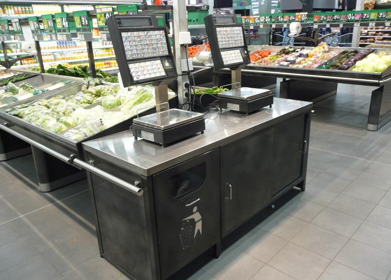 fruits & légumes - comptoir de pesée