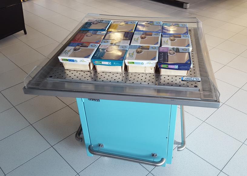 tables d'animation réfrigérées