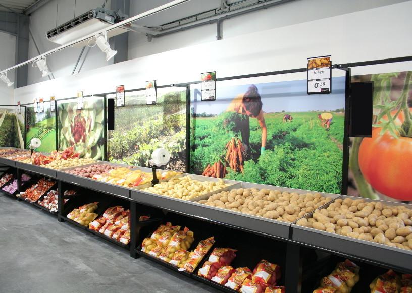 fruits & légumes - murales pommes de terre