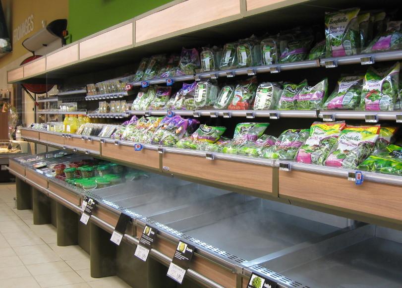 fruits & légumes - murale froid apporté