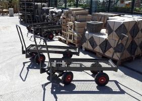 Jardinerie et Horticulture - chariot 4x4