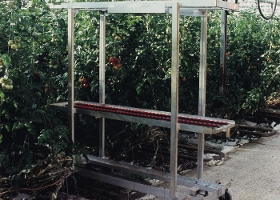 Jardinerie et Horticulture - chariot de cueillette