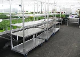 Jardinerie et Horticulture - chariot démontable