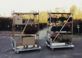 Jardinerie et Horticulture - chariot transbox