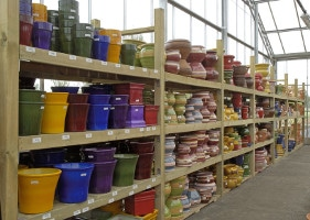 Jardinerie et Horticulture - rack bois