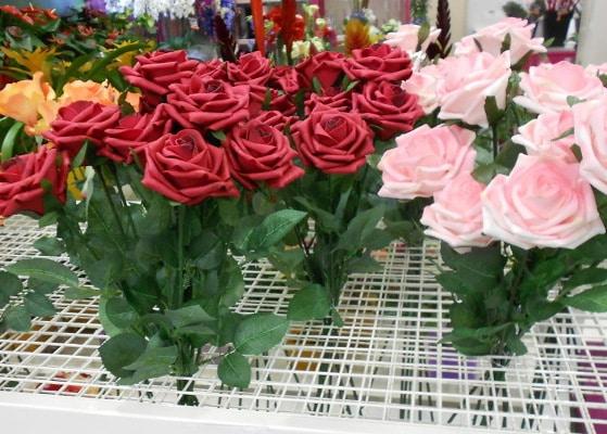 Fleuristerie - étagère a piquet