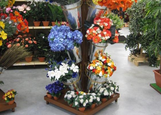 Fleuristerie - mât fleurs artificielles