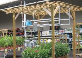Jardinerie et Horticulture - pergola extérieure