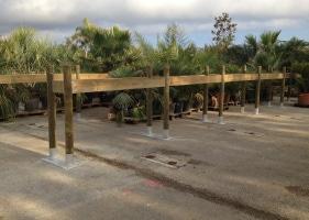Jardinerie et Horticulture - supports grands arbres
