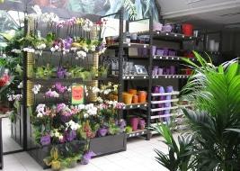 Jardinerie et Horticulture - présentoirs avec cadres muraux