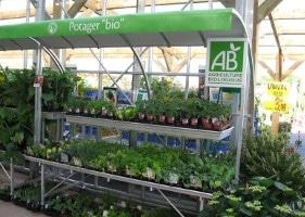 Jardinerie et Horticulture - étages tablars