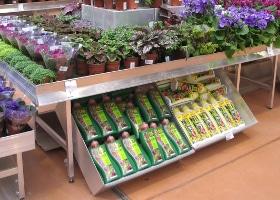 Jardinerie et Horticulture - meubles de vente complémentaire