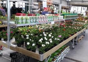 Jardinerie et Horticulture - tablars et accessoires
