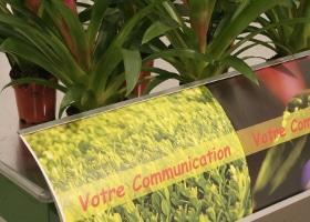 Jardinerie et Horticulture - bandeau communiquant