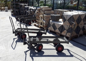 Jardinerie et Horticulture - chariots libre service