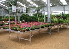 Jardinerie et Horticulture - portiques signalétique